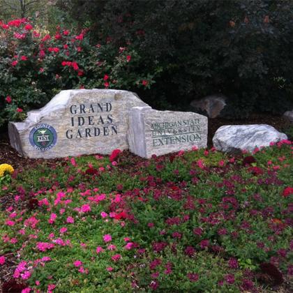 Kent/MSU Extension Grand Ideas Garden