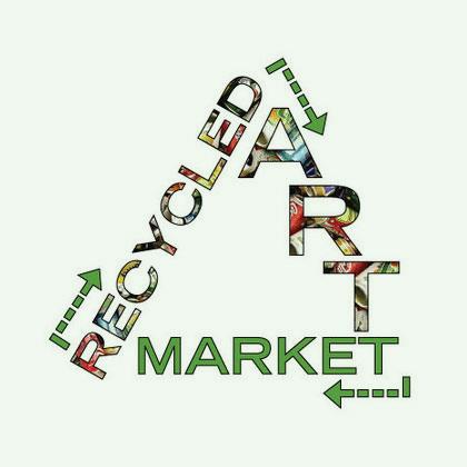 Recycled Art Market